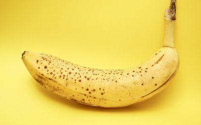 Why do frozen bananas taste so good?