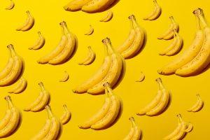 frozen banana bunch